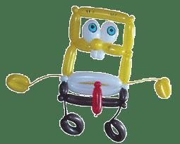 Spongebob im Stuttgarter Raum als Ballonfigur