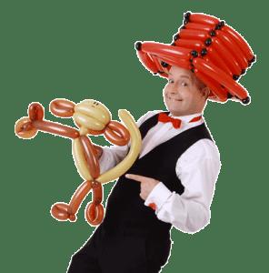 Ballonkünstler Stuttgart Affe