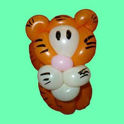 Ballonkünstler Stuttgart Tiger