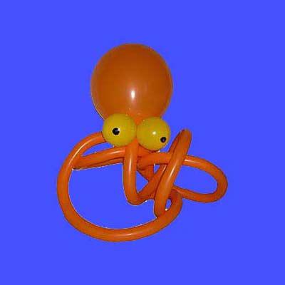 Luftballontiere in Stuttgart Krake Oktopus